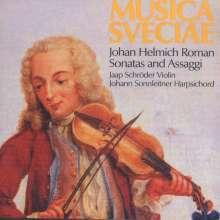 Johan Helmich Roman (1694-1758): Sonaten f.Violine & Cembalo Nr.9 & 12, CD