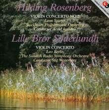 Hilding Rosenberg (1892-1985): Violinkonzert Nr.2, CD