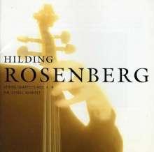 Hilding Rosenberg (1892-1985): Streichquartette Nr.3 & 9, CD