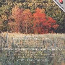 Gunnar de Frumerie (1908-1987): Variationen & Fuge f.Klavier & Orch. (1932), CD
