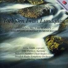 Torbjörn Iwan Lundquist (1920-2000): Symphonie Nr.7, CD