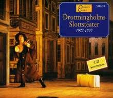Drottningholms Slottsteater 1922-1992, CD