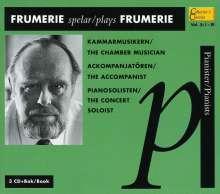 Gunnar de Frumerie (1908-1987): Konzert für 2 Klaviere op.46, 3 CDs