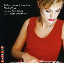 Aaron Copland (1900-1990): Klarinettenkonzert, CD