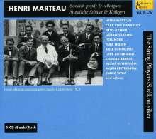 Henri Marteau,seine Schüler & Kollegen, 4 CDs