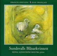"""Jean Francaix (1912-1997): Sextett f.Klavier & Bläser """"L'Heure du Berger"""", CD"""