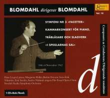 "Karl-Birger Blomdahl (1916-1968): Symphonie Nr.3 ""Facetter"", CD"