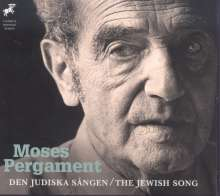 Moses Pergament (1893-1977): The Jewish Song, CD