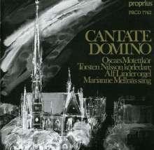 Oscars Motettkör - Cantate Domino, CD