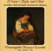 Anne Sofie von Otter singt Lieder & Arien, CD