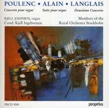 Jean Langlais (1907-1991): Orgelkonzert Nr.2, CD
