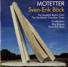 Sven-Erik Bäck (1919-1994): 14 Motetten, CD