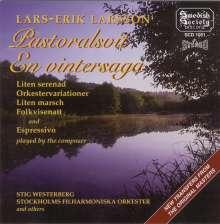 Lars-Erik Larsson (1908-1986): Pastoralsuite op.19, CD