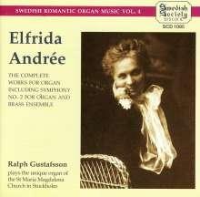 Elfrida Andree (1841-1929): Orgelsymphonien Nr.1 & 2, CD