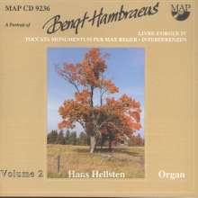 Bengt Hambräus (1928-2000): Orgelwerke, CD