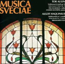Tor Aulin (1866-1914): Violinsonate op.12, CD