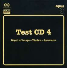 Test CD 4: Acoustic Music, SACD