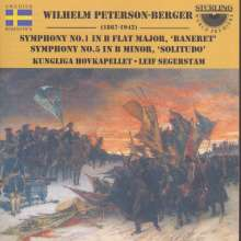 Wilhelm Peterson-Berger (1867-1942): Symphonien Nr.1 & 5, CD