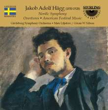 "Jacob Adolf Hägg (1850-1928): Symphonie op.2 ""Nordische"", CD"