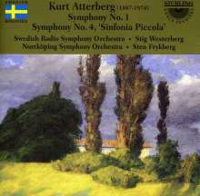 Kurt Atterberg (1887-1974): Symphonien Nr.1 & 4, CD