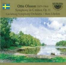 Otto Olsson (1879-1964): Symphonie op.11, CD