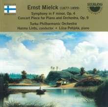 Ernst Mielck (1877-1899): Symphonie f-moll op.4, CD
