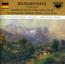 Richard Wetz (1875-1935): Symphonie Nr.3, CD