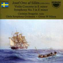Josef Otto af Sillen (1859-1951): Symphonie Nr.3, CD