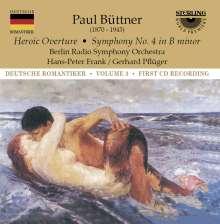 Paul Büttner (1870-1943): Symphonie Nr.4 h-moll, CD