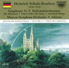 """Heinrich Schulz-Beuthen (1838-1915): Symphonie Nr.5 für Orgel & Orchester """"Reformationshymnus"""", CD"""