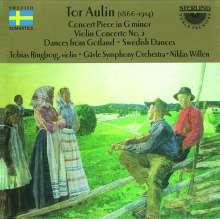 Tor Aulin (1866-1914): Violinkonzert Nr.2 op.11, CD