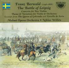Franz Berwald (1796-1868): The Battle of Leipzig, CD