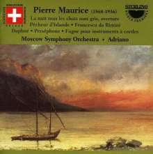 Pierre Maurice (1868-1936): Orchesterwerke, CD
