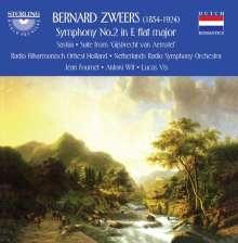Bernard Zweers (1854-1924): Symphonie Nr.2 Es-Dur, CD