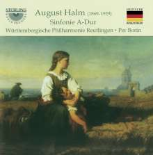 August Halm (1869-1929): Symphonie A-Dur, CD