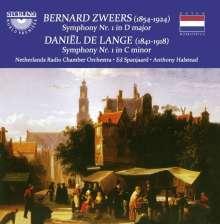 Bernard Zweers (1854-1924): Symphonie Nr.1 D-Dur, CD