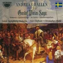 Andreas Hallen (1846-1925): Gustav Wasas Saga, CD