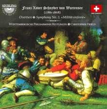 """Franz Xaver Schnyder von Wartensee (1786-1868): Symphonie Nr.3 """"Militärsinfonie"""", CD"""