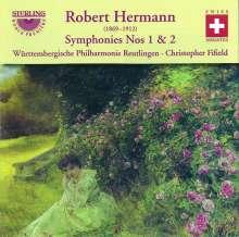 Robert Hermann (1869-1912): Symphonien Nr.1 & 2 (op.7 C-Dur & op.11 h-moll), CD