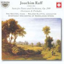 Joachim Raff (1822-1882): Suite für Klavier & Orchester op.200, CD