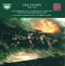 Ole Olsen (1850-1927): Symphonie Nr. 1 G-Dur op. 5, CD