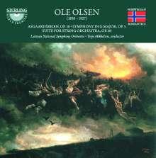 Ole Olsen (1850-1927): Symphonie Nr.1 G-Dur op.5, SACD