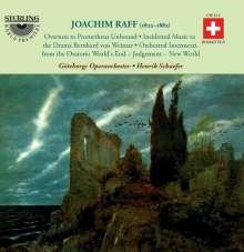 """Joachim Raff (1822-1882): Bühnenmusik zu """"Bernhard von Weimar"""" WoO 17, 2 CDs"""