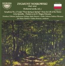 Zygmunt Noskowski (1846-1909): Orchesterwerke Vol.3, CD