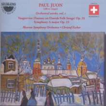 Paul Juon (1872-1940): Orchesterwerke Vol.1, CD