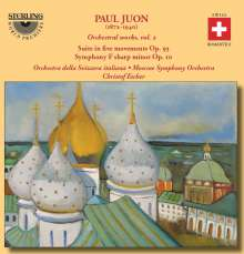 Paul Juon (1872-1940): Orchesterwerke Vol.2, CD