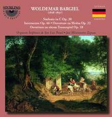 Woldemar Bargiel (1828-1897): Symphonie C-Dur op.30, CD