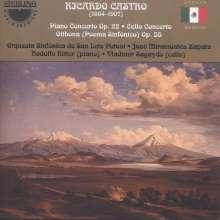 Ricardo Castro (1864-1907): Klavierkonzert op.22, CD