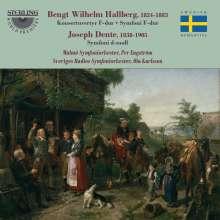 Bengt Wilhelm Hallberg (1824-1883): Symphonie F-Dur, CD