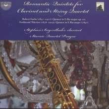 Ferdinand Thieriot (1838-1919): Klarinettenquintett Es-Dur, CD